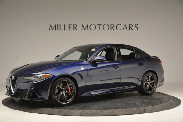 New 2018 Alfa Romeo Giulia Quadrifoglio for sale Sold at Rolls-Royce Motor Cars Greenwich in Greenwich CT 06830 2
