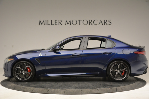 New 2018 Alfa Romeo Giulia Quadrifoglio for sale Sold at Rolls-Royce Motor Cars Greenwich in Greenwich CT 06830 3