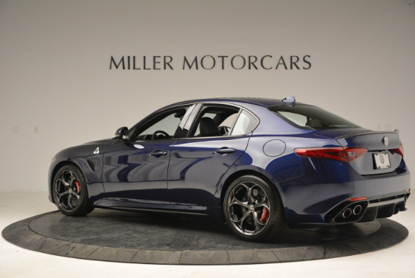 New 2018 Alfa Romeo Giulia Quadrifoglio for sale Sold at Rolls-Royce Motor Cars Greenwich in Greenwich CT 06830 4