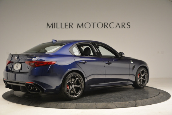 New 2018 Alfa Romeo Giulia Quadrifoglio for sale Sold at Rolls-Royce Motor Cars Greenwich in Greenwich CT 06830 8