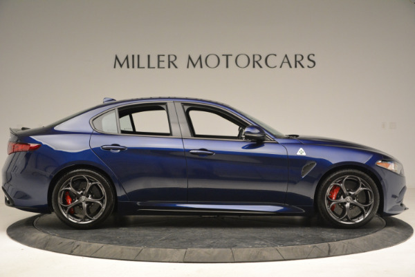 New 2018 Alfa Romeo Giulia Quadrifoglio for sale Sold at Rolls-Royce Motor Cars Greenwich in Greenwich CT 06830 9