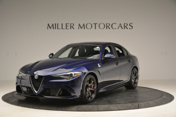New 2018 Alfa Romeo Giulia Quadrifoglio for sale Sold at Rolls-Royce Motor Cars Greenwich in Greenwich CT 06830 1