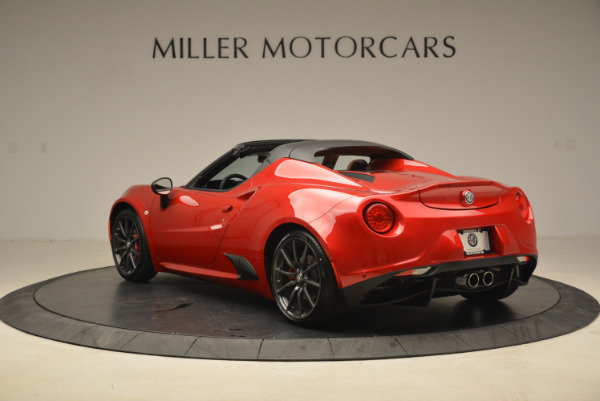 New 2018 Alfa Romeo 4C Spider for sale Sold at Rolls-Royce Motor Cars Greenwich in Greenwich CT 06830 8