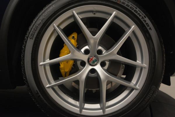 New 2018 Alfa Romeo Stelvio Ti Sport Q4 for sale Sold at Rolls-Royce Motor Cars Greenwich in Greenwich CT 06830 13