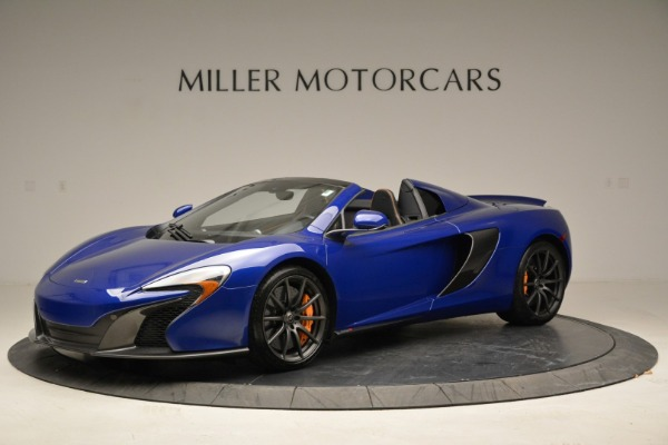 Used 2016 McLaren 650S Spider for sale Sold at Rolls-Royce Motor Cars Greenwich in Greenwich CT 06830 2