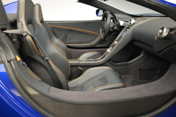 Used 2016 McLaren 650S Spider for sale Sold at Rolls-Royce Motor Cars Greenwich in Greenwich CT 06830 27