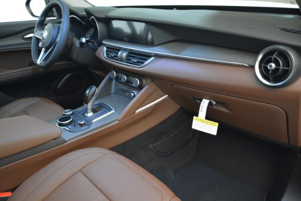 New 2018 Alfa Romeo Stelvio Ti Q4 for sale Sold at Rolls-Royce Motor Cars Greenwich in Greenwich CT 06830 19