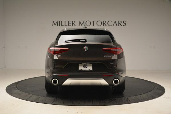 New 2018 Alfa Romeo Stelvio Ti Q4 for sale Sold at Rolls-Royce Motor Cars Greenwich in Greenwich CT 06830 6