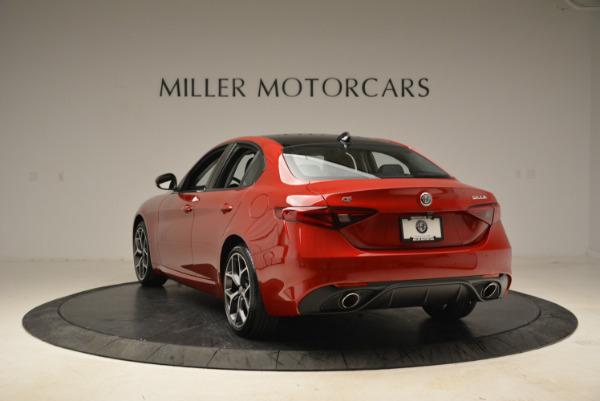 New 2018 Alfa Romeo Giulia Ti Sport Q4 for sale Sold at Rolls-Royce Motor Cars Greenwich in Greenwich CT 06830 5