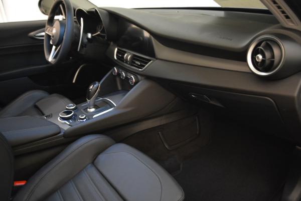 New 2018 Alfa Romeo Giulia Ti Sport Q4 for sale Sold at Rolls-Royce Motor Cars Greenwich in Greenwich CT 06830 19