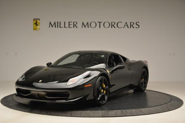 Used 2011 Ferrari 458 Italia for sale Sold at Rolls-Royce Motor Cars Greenwich in Greenwich CT 06830 1