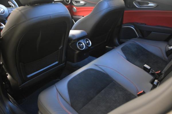 New 2018 Alfa Romeo Giulia Quadrifoglio for sale Sold at Rolls-Royce Motor Cars Greenwich in Greenwich CT 06830 18