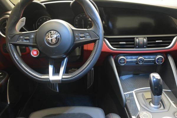 New 2018 Alfa Romeo Giulia Quadrifoglio for sale Sold at Rolls-Royce Motor Cars Greenwich in Greenwich CT 06830 20