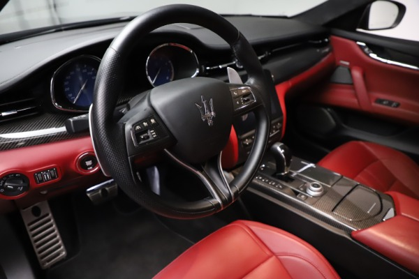 Used 2018 Maserati Quattroporte S Q4 GranSport for sale $67,900 at Rolls-Royce Motor Cars Greenwich in Greenwich CT 06830 13