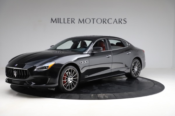 New 2018 Maserati Quattroporte S Q4 GranSport for sale Sold at Rolls-Royce Motor Cars Greenwich in Greenwich CT 06830 2