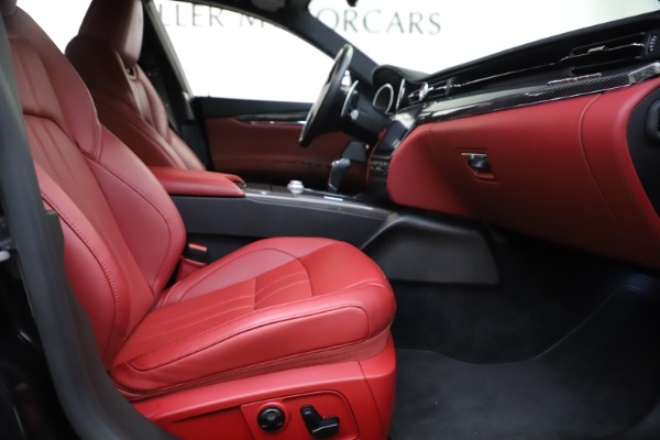 Used 2018 Maserati Quattroporte S Q4 GranSport for sale $67,900 at Rolls-Royce Motor Cars Greenwich in Greenwich CT 06830 23