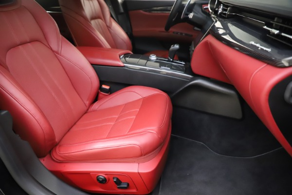 Used 2018 Maserati Quattroporte S Q4 GranSport for sale $67,900 at Rolls-Royce Motor Cars Greenwich in Greenwich CT 06830 24