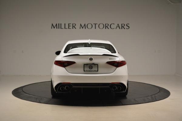 New 2018 Alfa Romeo Giulia Quadrifoglio for sale Sold at Rolls-Royce Motor Cars Greenwich in Greenwich CT 06830 6