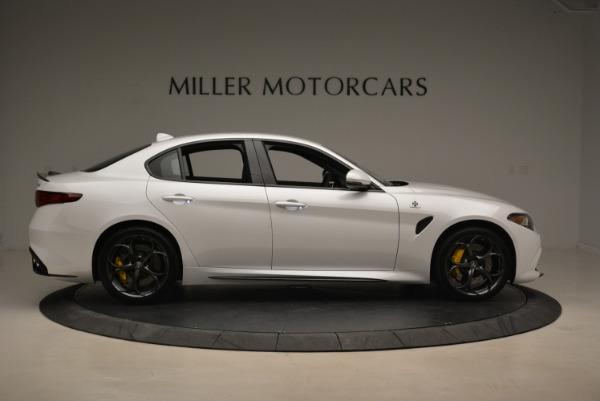 New 2018 Alfa Romeo Giulia Quadrifoglio for sale Sold at Rolls-Royce Motor Cars Greenwich in Greenwich CT 06830 9