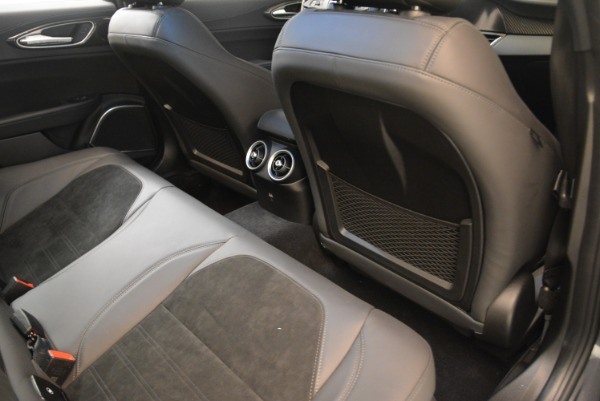 New 2018 Alfa Romeo Giulia Quadrifoglio for sale Sold at Rolls-Royce Motor Cars Greenwich in Greenwich CT 06830 22