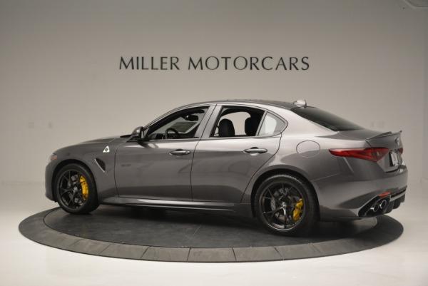 New 2018 Alfa Romeo Giulia Quadrifoglio for sale Sold at Rolls-Royce Motor Cars Greenwich in Greenwich CT 06830 4