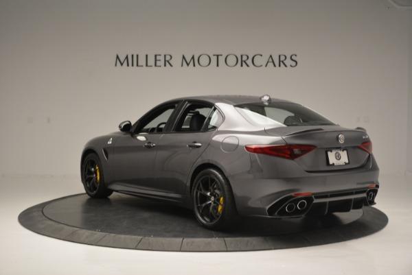 New 2018 Alfa Romeo Giulia Quadrifoglio for sale Sold at Rolls-Royce Motor Cars Greenwich in Greenwich CT 06830 5