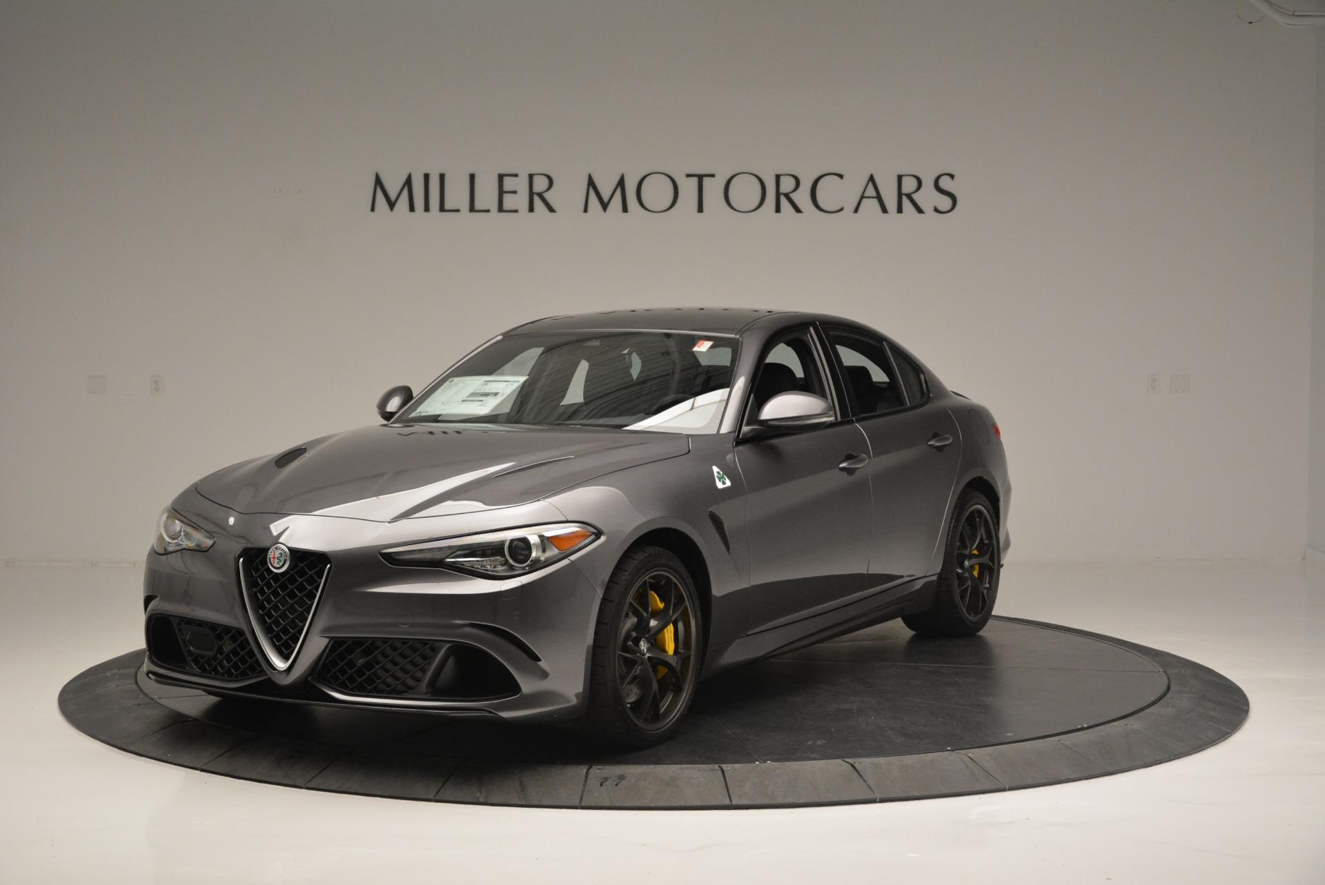 New 2018 Alfa Romeo Giulia Quadrifoglio for sale Sold at Rolls-Royce Motor Cars Greenwich in Greenwich CT 06830 1