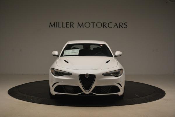 New 2018 Alfa Romeo Giulia Quadrifoglio for sale Sold at Rolls-Royce Motor Cars Greenwich in Greenwich CT 06830 12