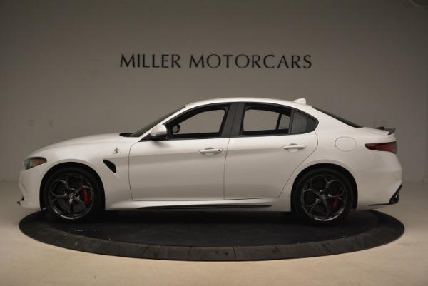 New 2018 Alfa Romeo Giulia Quadrifoglio for sale Sold at Rolls-Royce Motor Cars Greenwich in Greenwich CT 06830 3