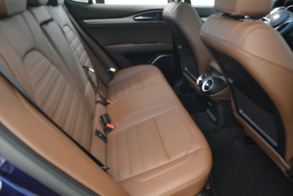 New 2018 Alfa Romeo Stelvio Ti Sport Q4 for sale Sold at Rolls-Royce Motor Cars Greenwich in Greenwich CT 06830 23