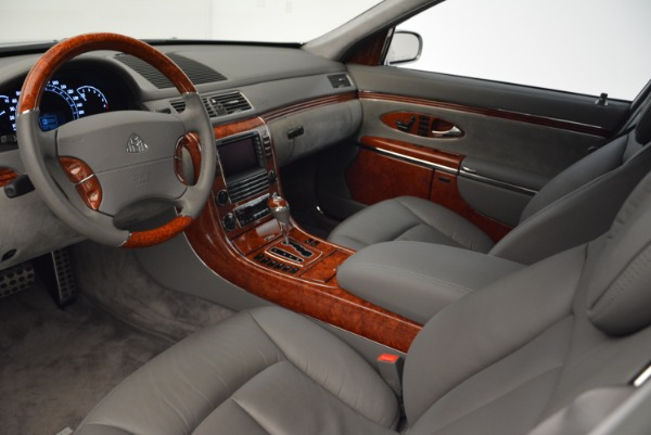 Used 2004 Maybach 57 for sale Sold at Rolls-Royce Motor Cars Greenwich in Greenwich CT 06830 14