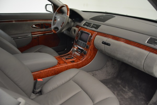 Used 2004 Maybach 57 for sale Sold at Rolls-Royce Motor Cars Greenwich in Greenwich CT 06830 26