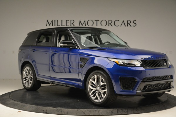 Used 2015 Land Rover Range Rover Sport SVR for sale Sold at Rolls-Royce Motor Cars Greenwich in Greenwich CT 06830 10