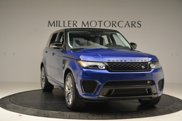 Used 2015 Land Rover Range Rover Sport SVR for sale Sold at Rolls-Royce Motor Cars Greenwich in Greenwich CT 06830 11