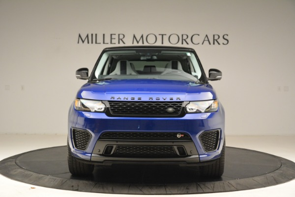 Used 2015 Land Rover Range Rover Sport SVR for sale Sold at Rolls-Royce Motor Cars Greenwich in Greenwich CT 06830 12