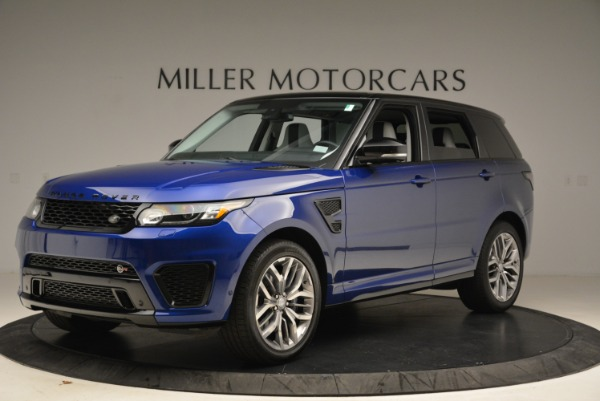Used 2015 Land Rover Range Rover Sport SVR for sale Sold at Rolls-Royce Motor Cars Greenwich in Greenwich CT 06830 2