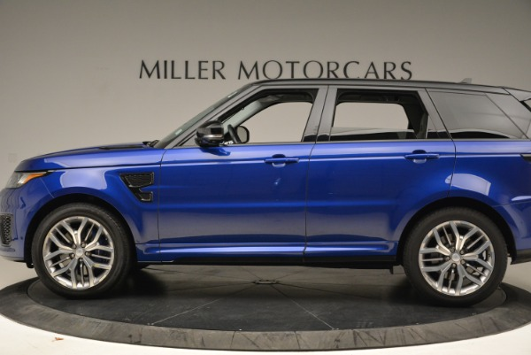 Used 2015 Land Rover Range Rover Sport SVR for sale Sold at Rolls-Royce Motor Cars Greenwich in Greenwich CT 06830 3