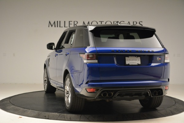 Used 2015 Land Rover Range Rover Sport SVR for sale Sold at Rolls-Royce Motor Cars Greenwich in Greenwich CT 06830 5
