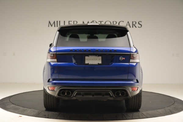 Used 2015 Land Rover Range Rover Sport SVR for sale Sold at Rolls-Royce Motor Cars Greenwich in Greenwich CT 06830 6