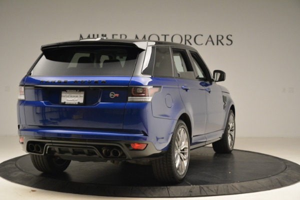 Used 2015 Land Rover Range Rover Sport SVR for sale Sold at Rolls-Royce Motor Cars Greenwich in Greenwich CT 06830 7