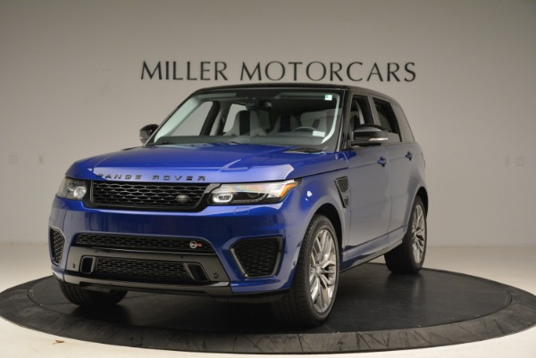 Used 2015 Land Rover Range Rover Sport SVR for sale Sold at Rolls-Royce Motor Cars Greenwich in Greenwich CT 06830 1