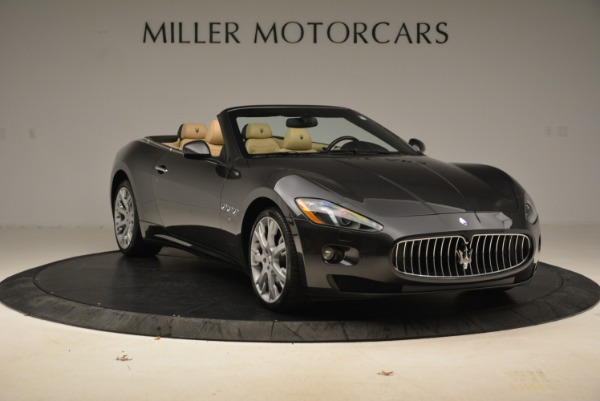 Used 2013 Maserati GranTurismo Convertible for sale Sold at Rolls-Royce Motor Cars Greenwich in Greenwich CT 06830 11