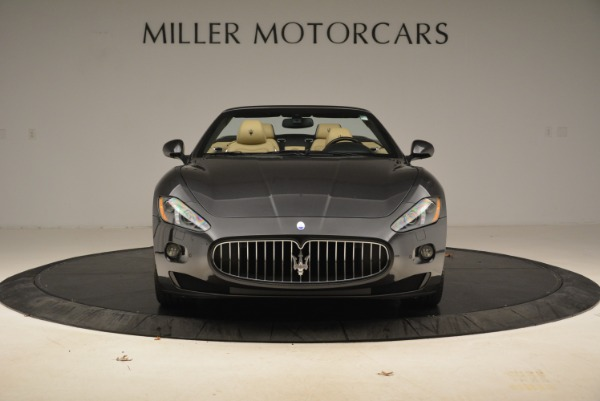 Used 2013 Maserati GranTurismo Convertible for sale Sold at Rolls-Royce Motor Cars Greenwich in Greenwich CT 06830 12