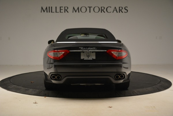 Used 2013 Maserati GranTurismo Convertible for sale Sold at Rolls-Royce Motor Cars Greenwich in Greenwich CT 06830 18