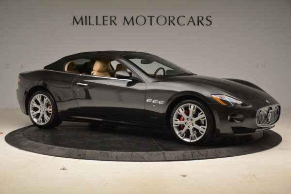 Used 2013 Maserati GranTurismo Convertible for sale Sold at Rolls-Royce Motor Cars Greenwich in Greenwich CT 06830 22