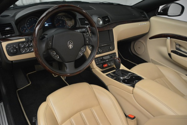 Used 2013 Maserati GranTurismo Convertible for sale Sold at Rolls-Royce Motor Cars Greenwich in Greenwich CT 06830 25