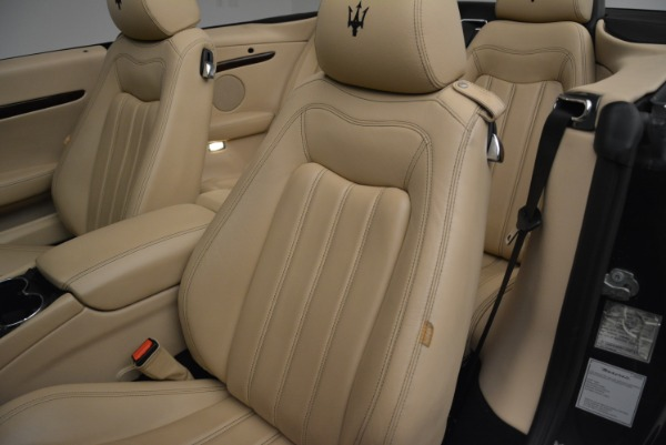 Used 2013 Maserati GranTurismo Convertible for sale Sold at Rolls-Royce Motor Cars Greenwich in Greenwich CT 06830 27