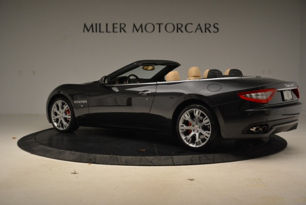 Used 2013 Maserati GranTurismo Convertible for sale Sold at Rolls-Royce Motor Cars Greenwich in Greenwich CT 06830 4