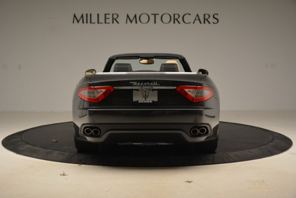 Used 2013 Maserati GranTurismo Convertible for sale Sold at Rolls-Royce Motor Cars Greenwich in Greenwich CT 06830 6