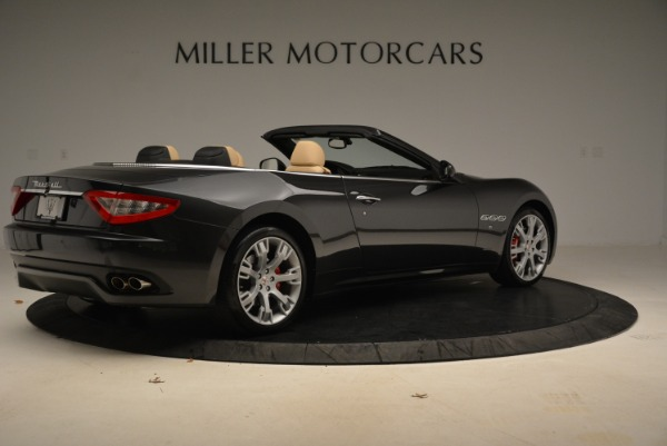 Used 2013 Maserati GranTurismo Convertible for sale Sold at Rolls-Royce Motor Cars Greenwich in Greenwich CT 06830 8